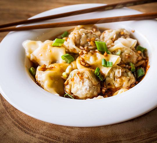 Wontons for party  Sichuan Wontons | Appetite for China