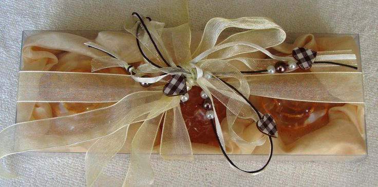 Cream-Ecru-Honey Elegant Gift Set with Luxury Scented Soaps: Ideal for Summer, Feast, Birthday, Party, Mother's Day, Graduation
