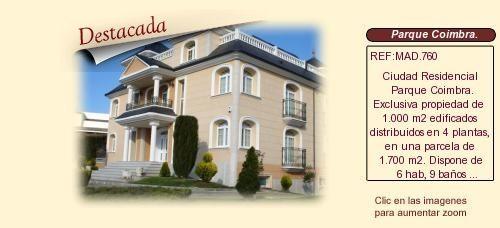 MAD760 Ciudad Residencial Parque Coimbra.  Móstoles. Madrid  Villa en venta.