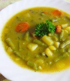 Grüne Bohnensuppe