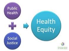 combining public health and social justice gets you health equity