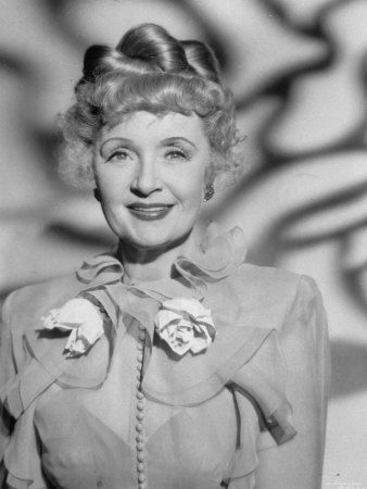 Billie Burke Starring as Clara Topper in Topper Returns (1941)