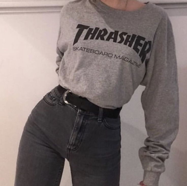 #style #fashion #thrasher #outfit #ootd #girl