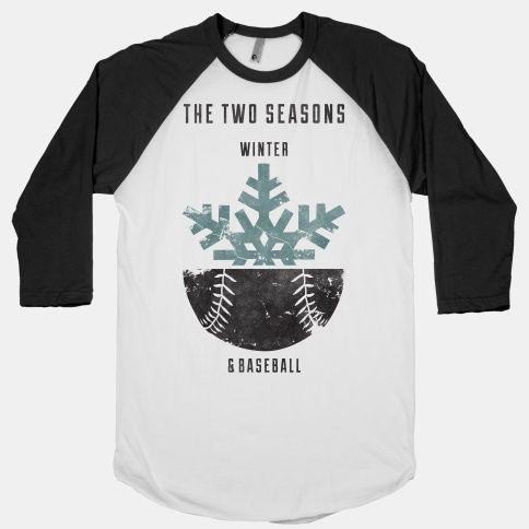 Winter and Baseball | HUMAN