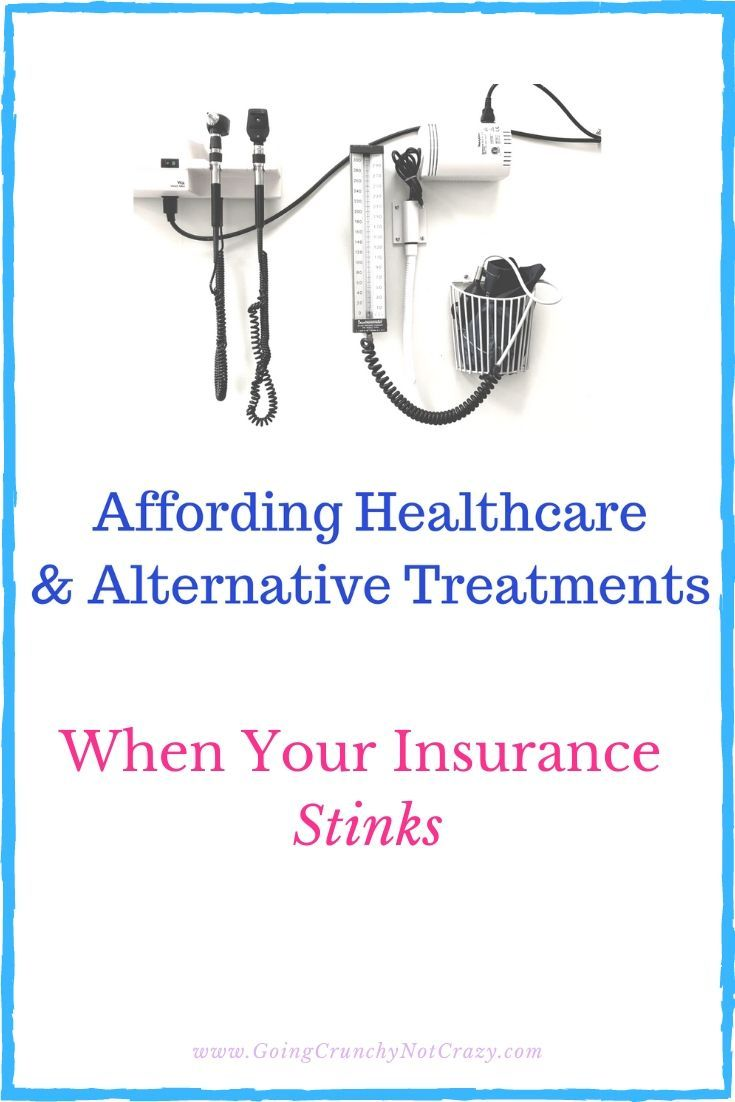 Affording health wellness when your insurance stinks