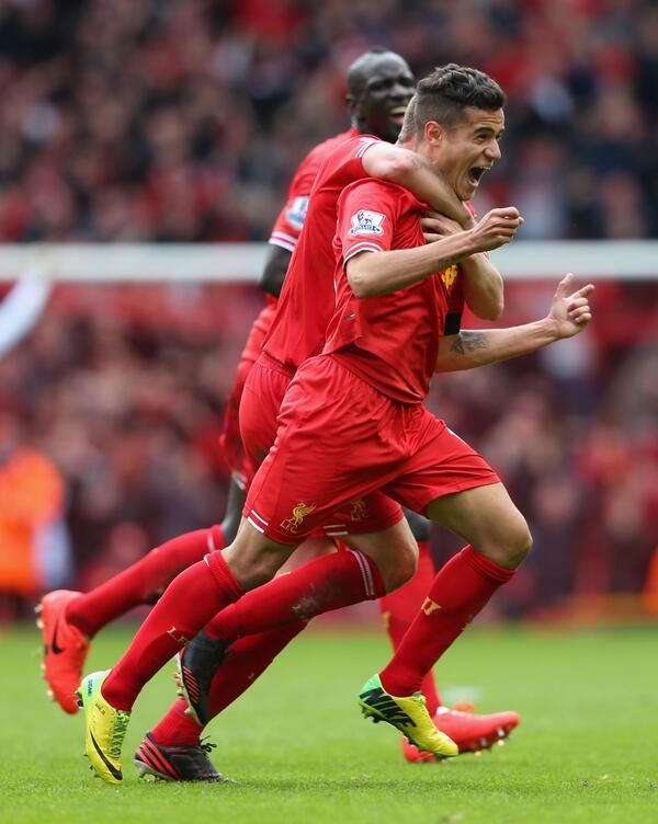 Joy for Coutinho and #LFC
