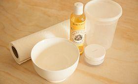 DIY lemon recipes including hand/foot scrub. lemon yogurt face mask, and nail rinse