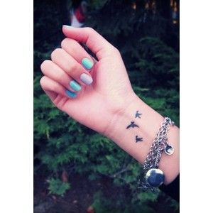 Bird Wrist Tattoo U My Next Tattoo But With Color Wrist Tattoos Center