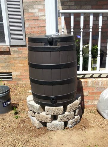 DIY Rain Barrel Stand Tutorial