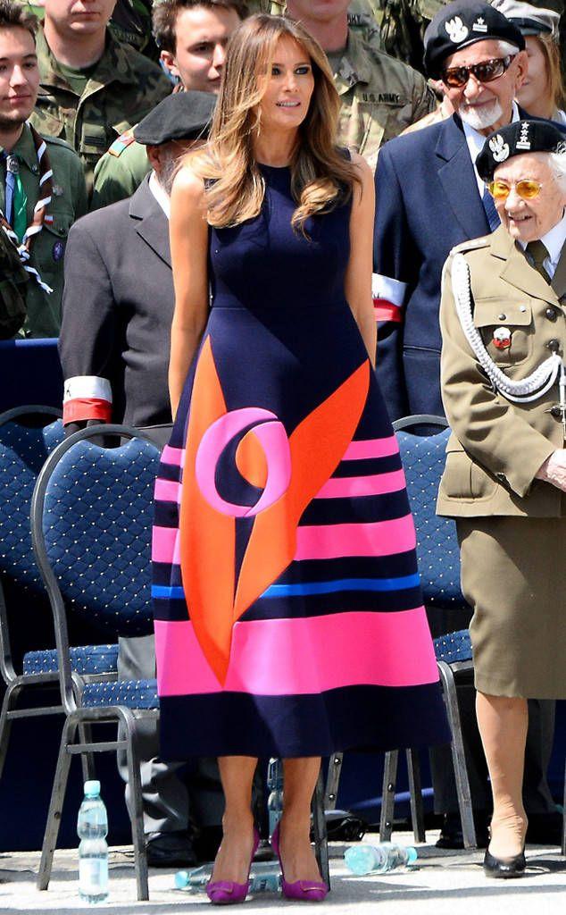 Feeling Colorful: Melania Trump's Best Looks