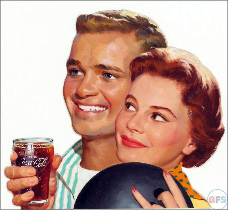 Coca Cola 1950s