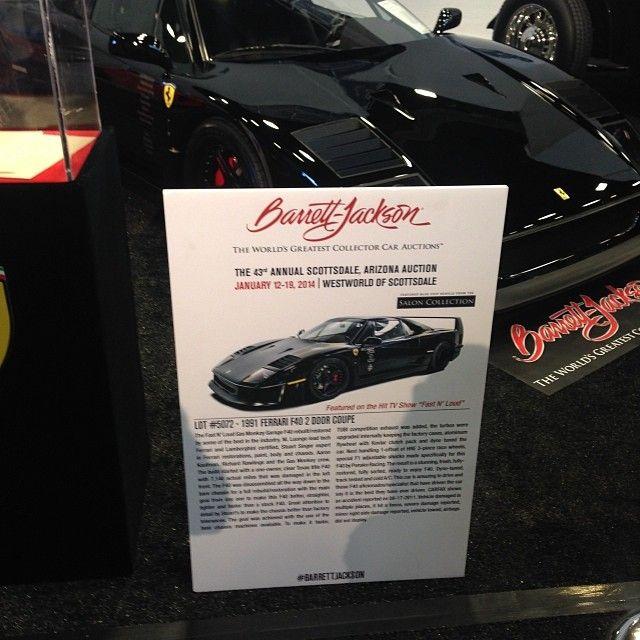 Gas Monkey Garage at Barrett-Jackson Scottsdale 2014!