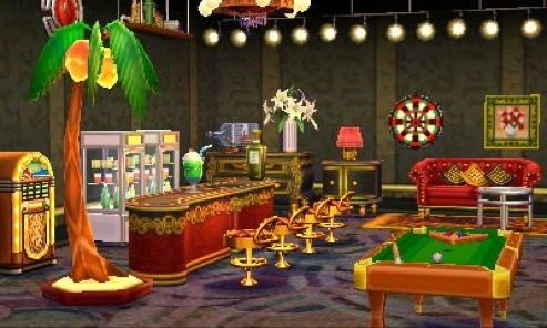 Acnl Basement Game Room