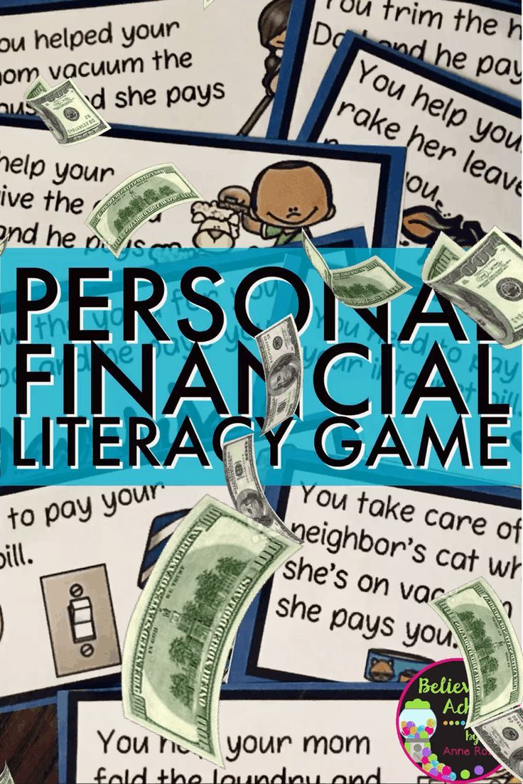 Personal Financial Literacy GameThis is aneasyto implement andfun gameto help students learn aboutmoney with real life situations!I've included :✔️directions✔️three vocabulary words✔️savings register recording sheet✔️ 39 game cards.This set is a wonderful addition to your lessons!