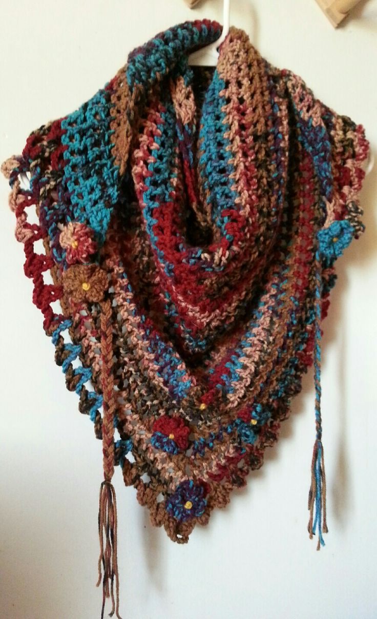 Road trip scarf. Love this pattern.