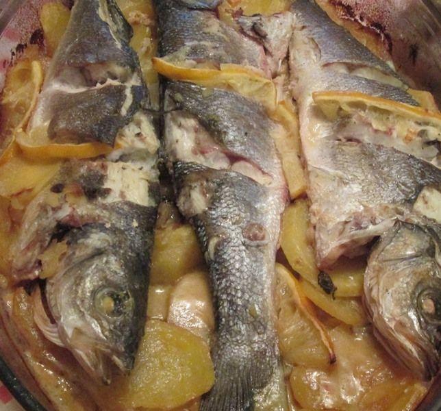 Lubina a la #sidra #CocinaAsturiana