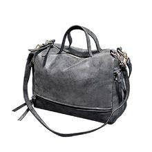 New Arrive Women Shoulder Bag Nubuck Leather Vintage Messenger Bag Motorcycle Crossbody Bags Women Bag  Price: US $21.70  Sale Price: US $15.62  #dressional