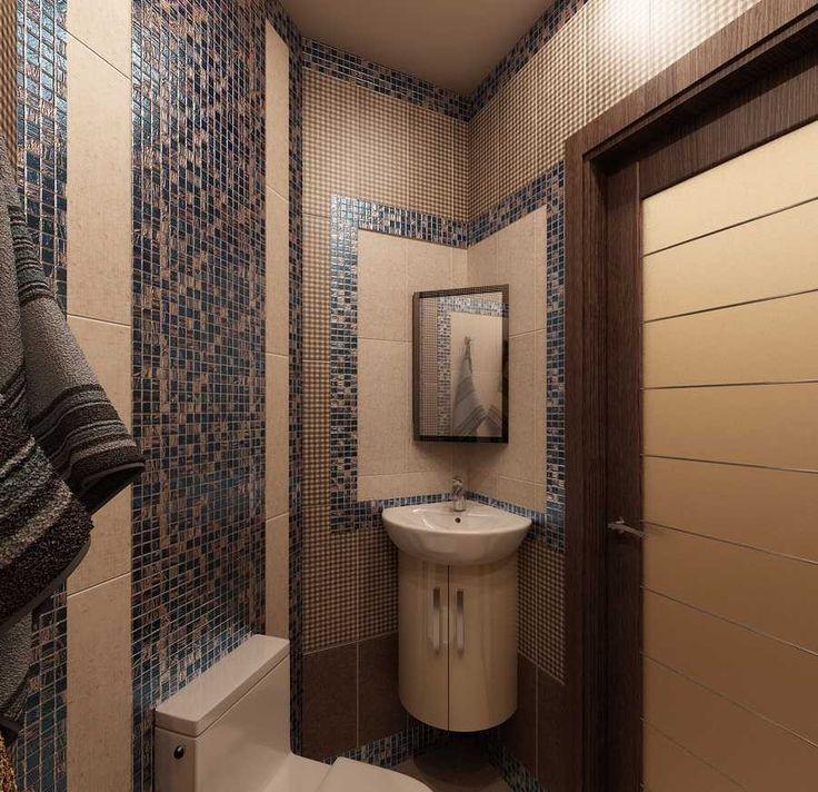 Решение для небольшой ванной комнаты. Угловая раковина с подвесной тумбой и унитазом. #дизайн_ванной #бежевая_ванная_комната #коричневая_ванная_комната #современная_ванная_ комната #современный_дизайн #мебель_для_ванной_комнаты #угловая_раковина #современный_унитаз #не_большая_ванная_комната #угловая_мебель_для_ванной_комнаты