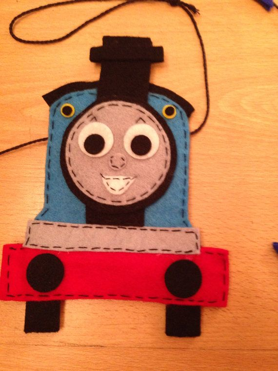 Inspired By Thomas The Tank Engine by CreativeCraftsByBex on Etsy