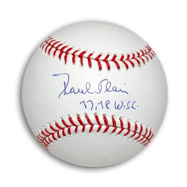 "Paul Blair Autographed MLB Baseball Inscribed """"77, 78 WSC"""""