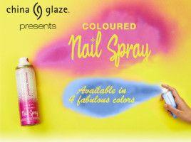 Smalti Spray China Glaze Coloured Nail Spray: presto in Italia? 22 marzo 2016 | Filed under: Novità dai marchi, Smalti China Glaze | Edit
