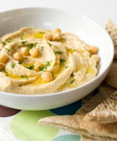 LEBANESE RECIPES: Authentic Middle Eastern Hummus