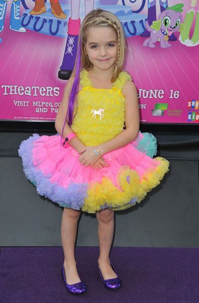 """Actress McKenna Grace arrives at the 2013 Los Angeles Film Festival Premiere of Hasbro Studios' """"My Little Pony Equestria Girls"""" at Regal Cinemas L.A. Live on June 15, 2013 in Los Angeles, California."""