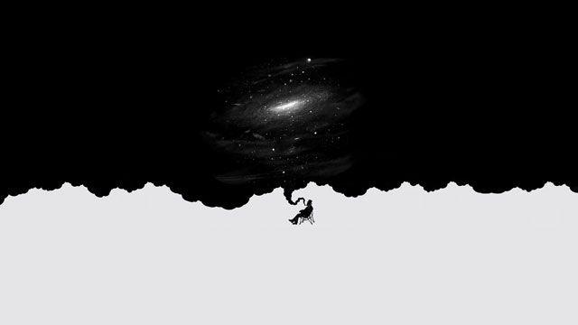 Galactic Smoke -- Wallpaper