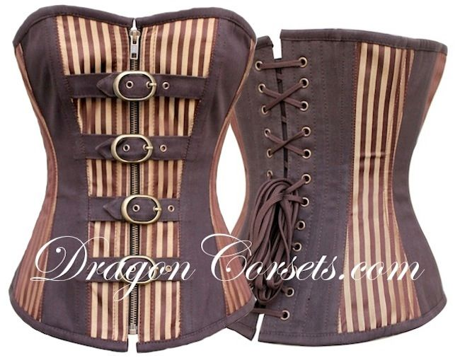 The Traveller Overbust Corset