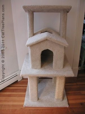 The Scratching Post Cat Shelter