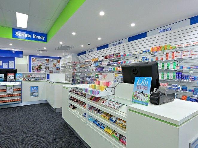 Coral Coast Pharmacies West - Design & Shopfitting - JBM Projects