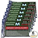 MYLATECH SURVIVAL XL Reusable Emergency Thermal Blankets