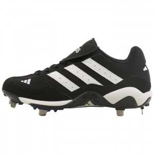 SALE - Adidas Classic Softball Cleats Mens Black Leather - Was $75.00 - SAVE $40.00. BUY Now - ONLY $34.99