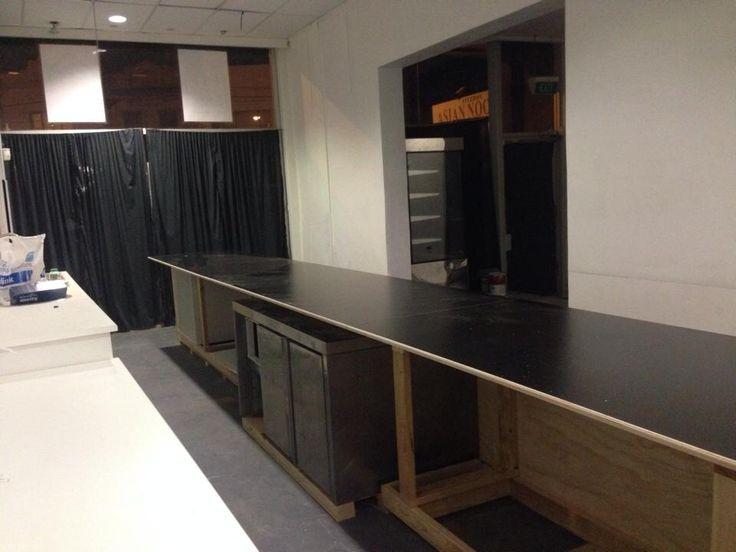 The long black counter.... ~ Mon