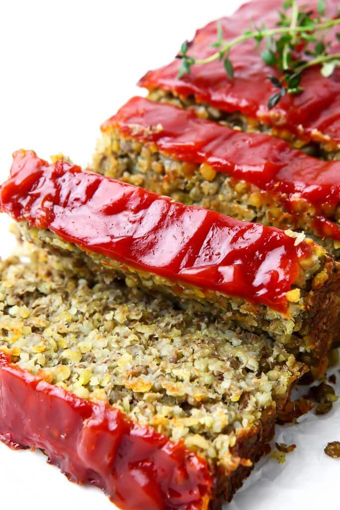 This is the best vegan lentil loaf you will ever eat!  This savory vegan meatlo…