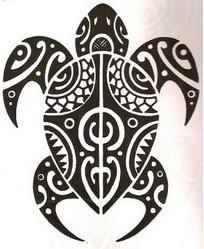 tattoo.polinesia.maori.0177.tartaruga by Tatuagem Polinésia - Tattoo Maori, via Flickr