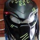 Alien Predator Helmet for street fighter Style
