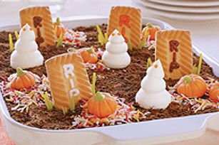 Gâteau des fantômes du cimetière