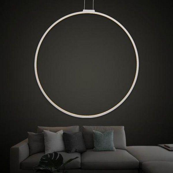 Irene LED Single Slim Type Circular Pendant Light Chandelier