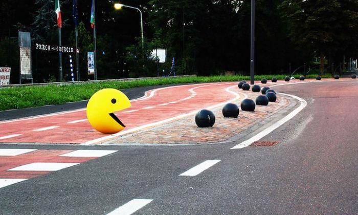 Uno dei capolavori di #StreetArt realizzati da Fra.Biancoshock #TvArte