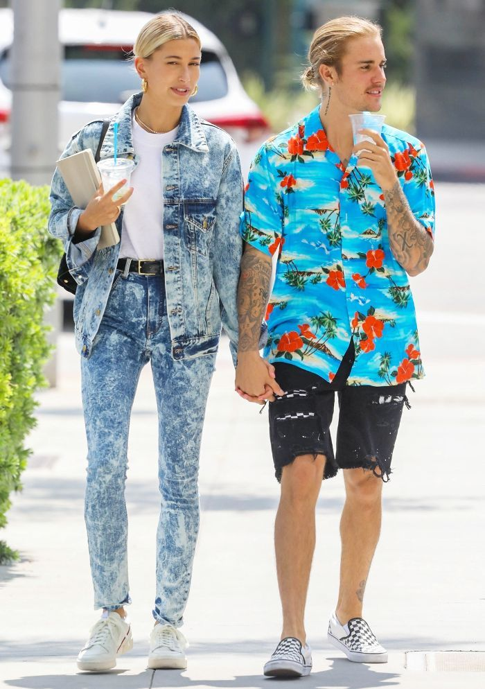 Hailey Baldwin Wore the Daring Skinny Jeans Trend You Haven