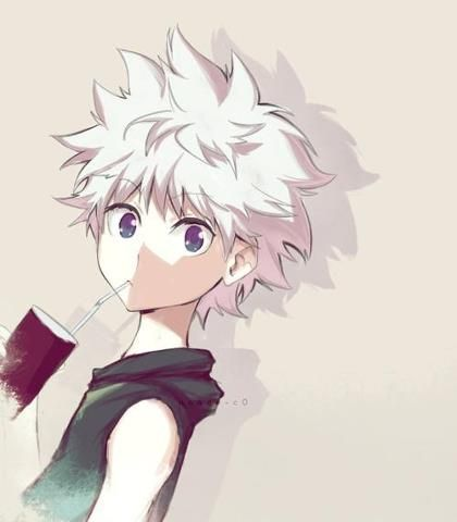 Killua Zoldyck - Hunter x Hunter; Honestly he is the cutest anime character based on appearance only. But he's also the most vicious, ruthless and violent character ever! Which makes him AMAAZING!