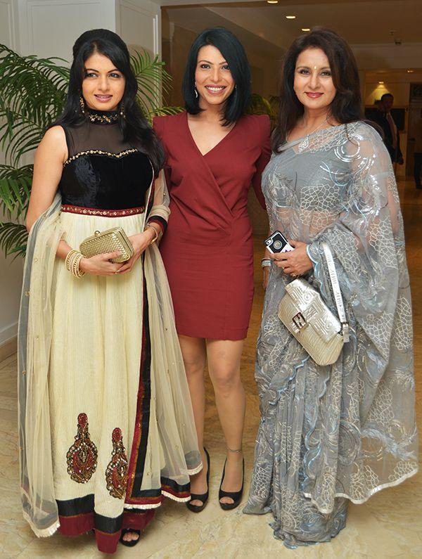 Bhagyashree Patwardhan, Shilpa Shukla and Poonam Dhillon at a 2013 Citadel event...