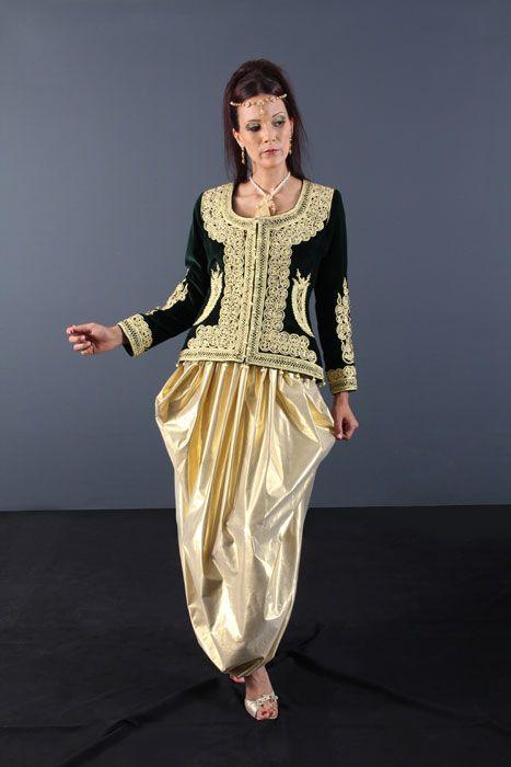 La boutique de vente robe marocaine vous offre une nouvelle collection de caftan algérien et takchita de mariage, …