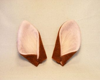 Deer Ears and Tail for Cosplay and Costumes - Fawn / Faun