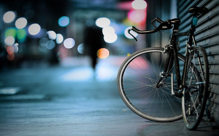 a parking bicycle wallpaper