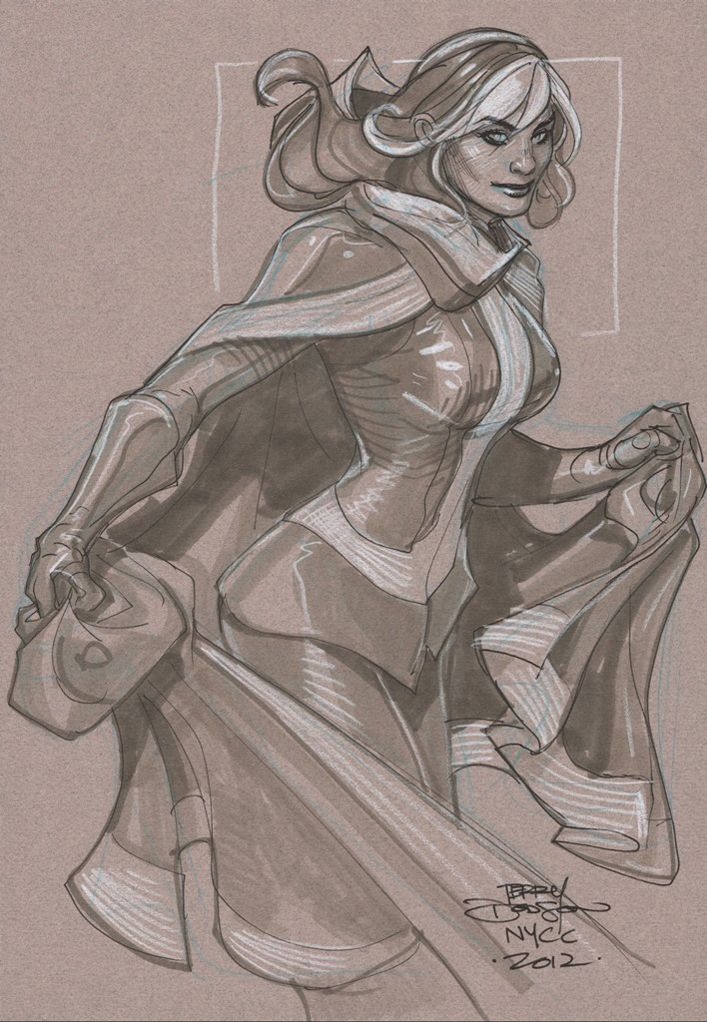 7 Best Images About Artist Terry Dodson On Pinterest