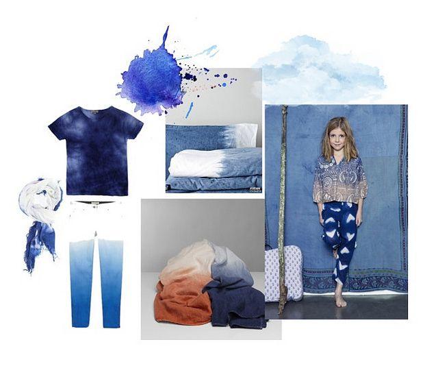 tie dye blue by Paul+Paula, via Flickr