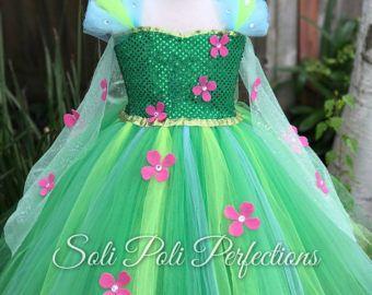 Elsa Tutu, Tutu ensemble, Frozen Tutu, Frozen Fever, Costume de Elsa, Elsa Dress, robe congelé, Princess Tutu, robe Tutu, Frozen Tutu ensemble,