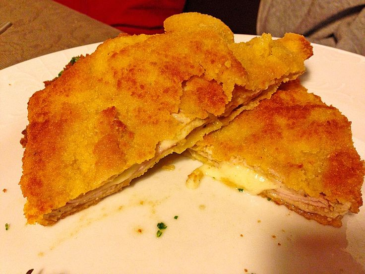German Cordon Bleu: Brings back memories of my childhood in Germany. Yum!! Now to find a recipe for bratkartoffeln